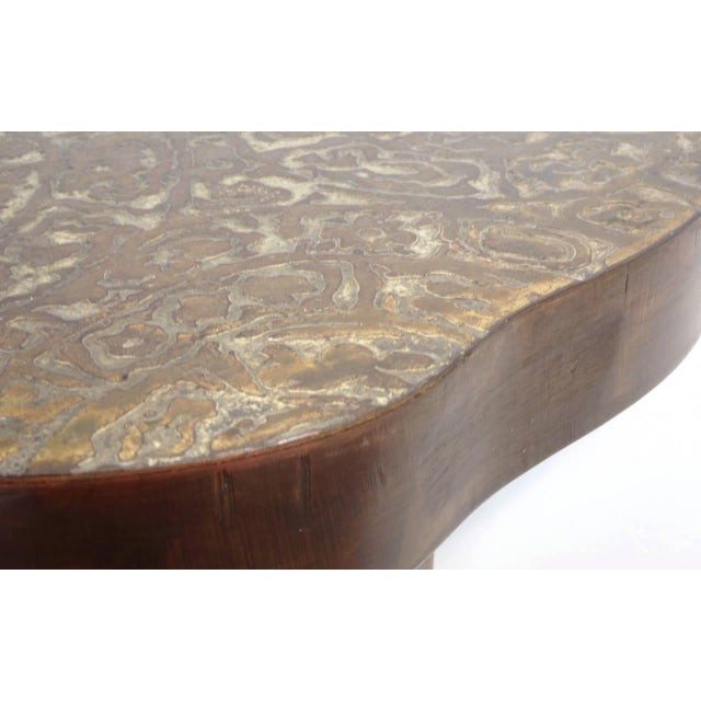 Bronze Bronze Coffee Table by Philip and Kelvin LaVerne For Sale - Image 7 of 10