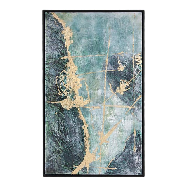 Kenneth Ludwig Chicago Ocean Wave Number 2 Painting For Sale