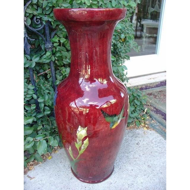 Antique Grande 'Bourg La Reine' Vase For Sale - Image 4 of 9