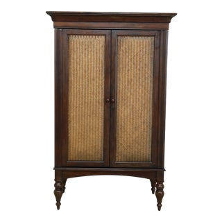 Howard Miller Island Design Mahogany Bar Cabinet For Sale