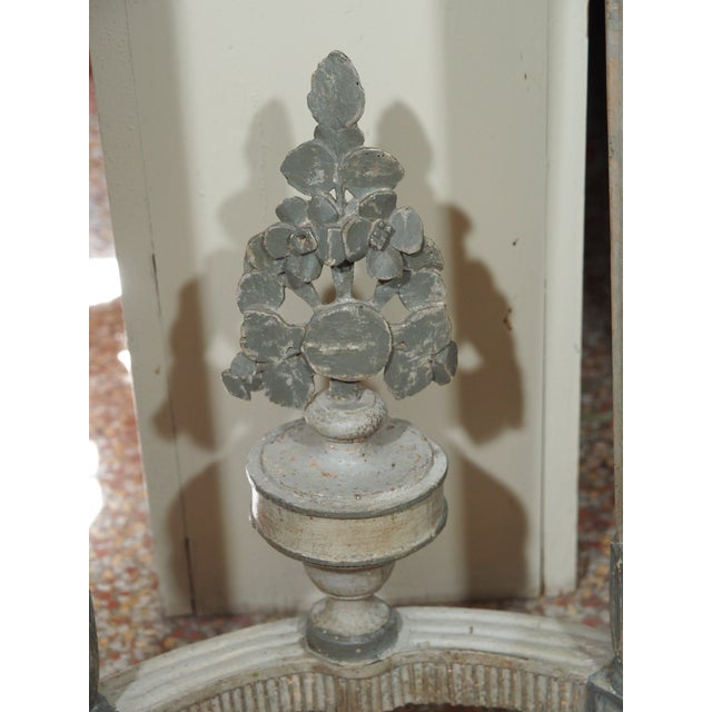 Early 19th Century Louis XVI Style Demi Lune Console For Sale - Image 5 of 8