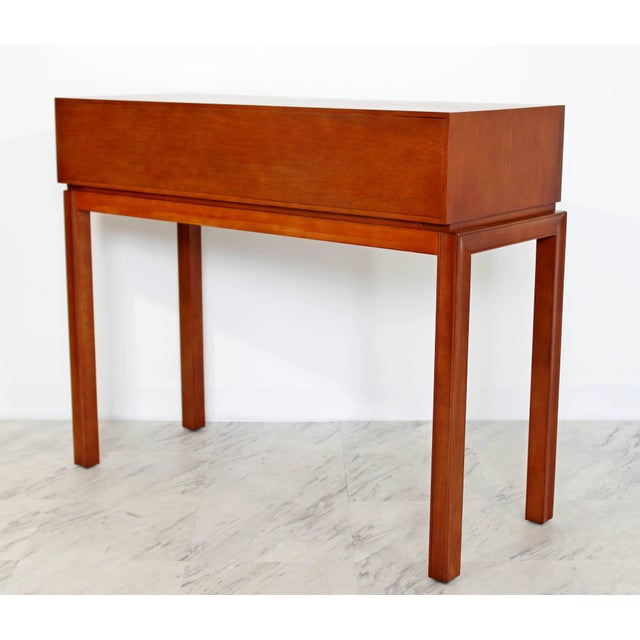 Sophisticated MidCentury Modern Tommi Parzinger For Charak Console - Mid century modern foyer table