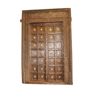 Antique Indian Haveli Door For Sale