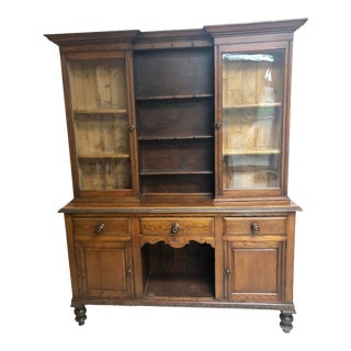 19th Century Antique Welsh Cupboard For Sale