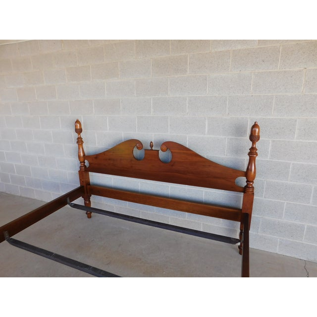 Suter's Reproductions Acorn Poster King Size Bed For Sale - Image 10 of 12