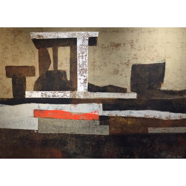 Stanley Bate, Oracle Painting, Circa 1970 For Sale In New York - Image 6 of 6