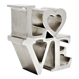 Pop Art Love Sculpture in the Style of Robert Indiana For Sale