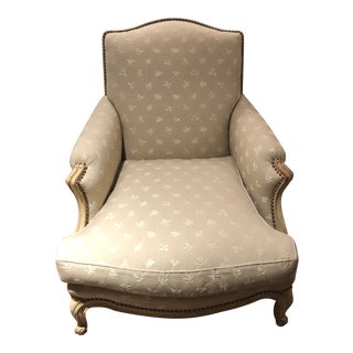 Swedish Upholstered Club Chair For Sale