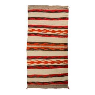 A 1920s Navajo Hand-Spun Rug