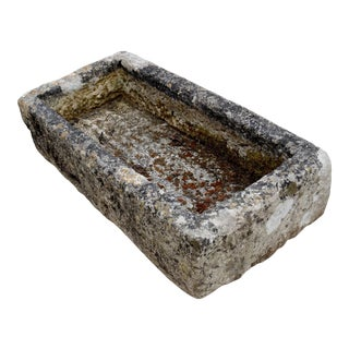 Small French Antique Trough For Sale
