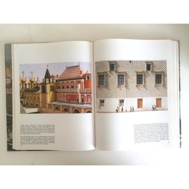 "Blue "" Moskau "" Vintage 1975 Photography Cultural Travel Large Art Book in German For Sale - Image 8 of 11"
