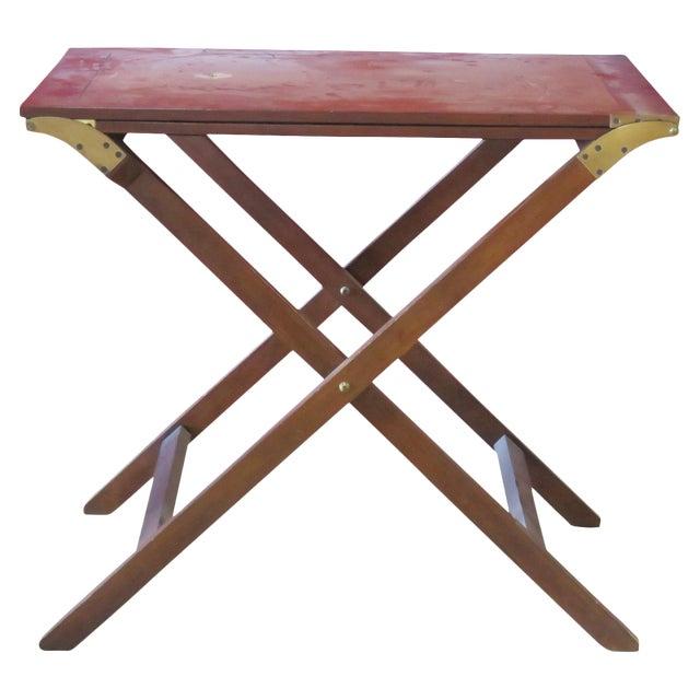 Baker Mahogany Butler's Convertible Buffet Table - Image 1 of 6