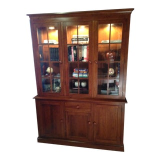 Traditional Library Book Case/China Cabinet For Sale
