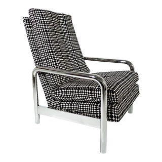 Midcentury Milo Baughman Reclining Lounge Chair