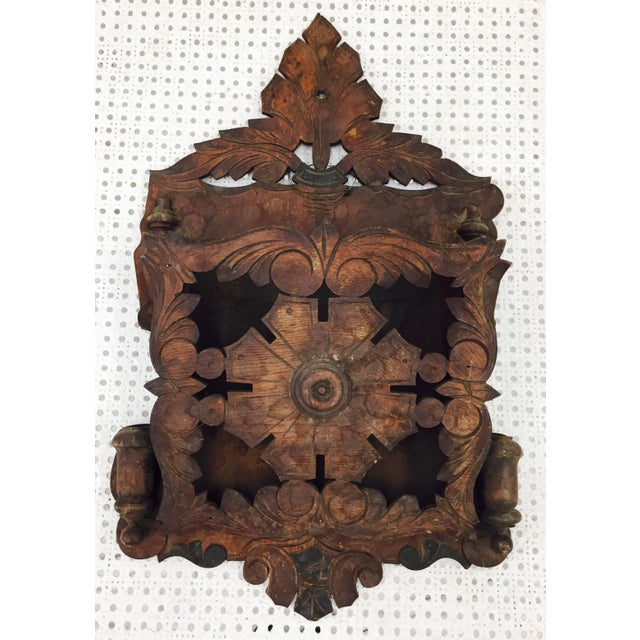 Amazing hand crafted Victorian Letter Holder Wall Hanging. Stunning detail and craftsmanship in this hard to find beauty!...