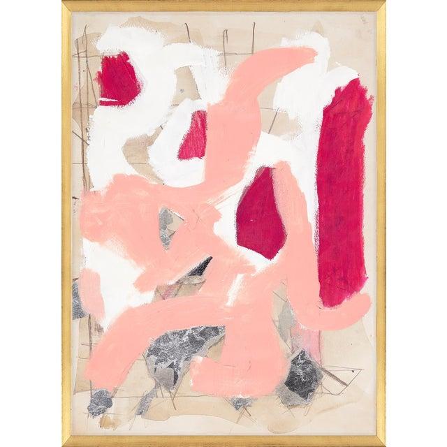 Guerra Art Print in Gold Leaf Frame For Sale