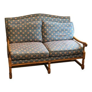 20th Century French Country Settee For Sale
