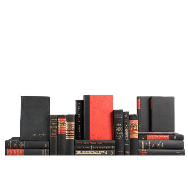 Accented World History: Ebony & Crimson Books - Set of 20 - Image 1 of 2