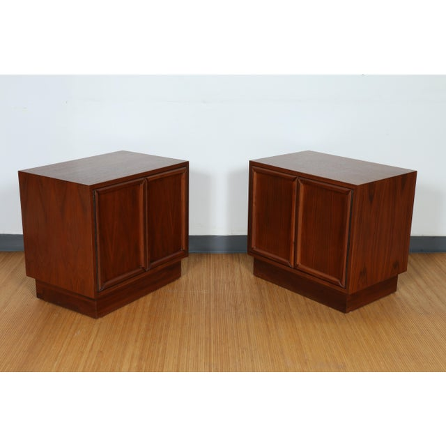 Brown & Saltman for John Keal Nightstands - A Pair For Sale - Image 9 of 11