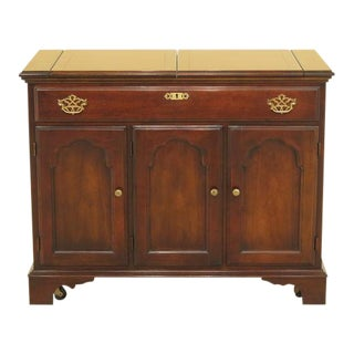 Statton Flip Top Solid Cherry Server Cabinet