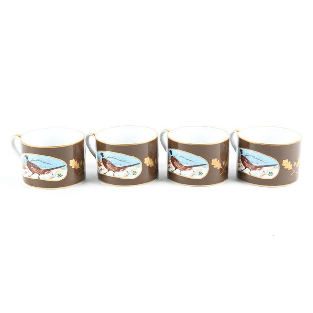 1980s Traditional Lynn Chase Designs Winter Game Birds China - 16 Pieces For Sale - Image 4 of 6