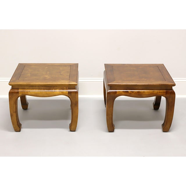 1970s Century Chin Hua Raymond Sobota Asian Chinoiserie Ming Cocktail Tables - Pair For Sale - Image 5 of 11