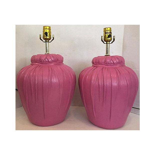 Dickinson Style Table Lamps - A Pair - Image 3 of 6