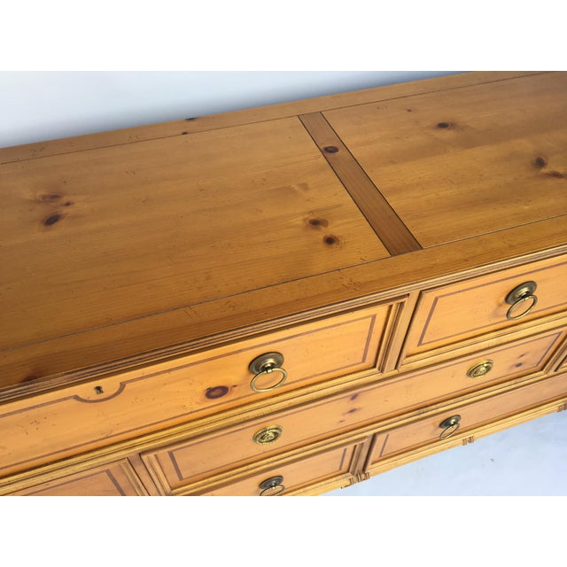 Baker Furniture Chinese Chippendale Bamboo Dresser - Image 5 of 8