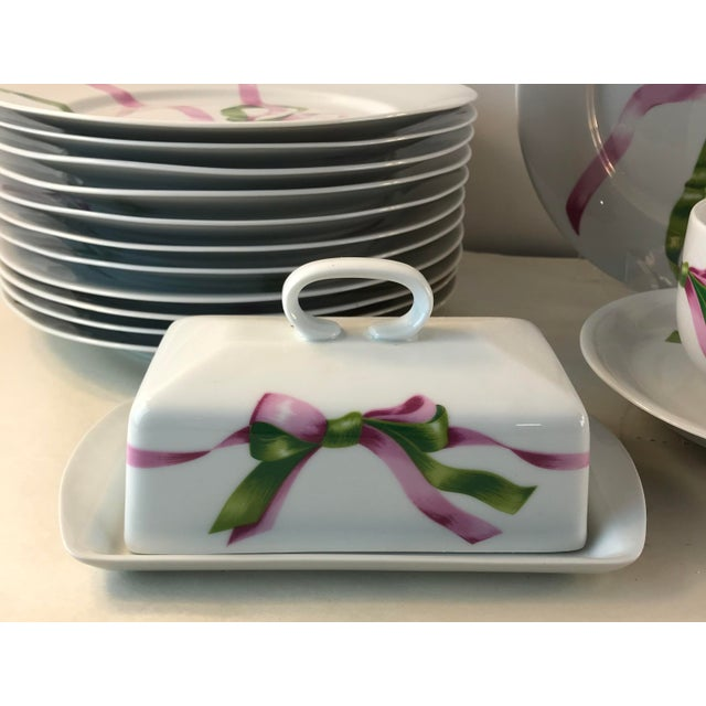 Vintage Jacques Coeur Dinnerware-Set of 49 For Sale - Image 4 of 13