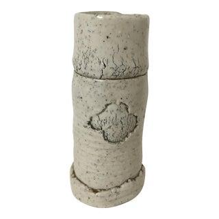 Howard Kottler 1964 Ceramic Cylindrical Vase