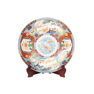 19th Century Large Imari Charger From Japan For Sale