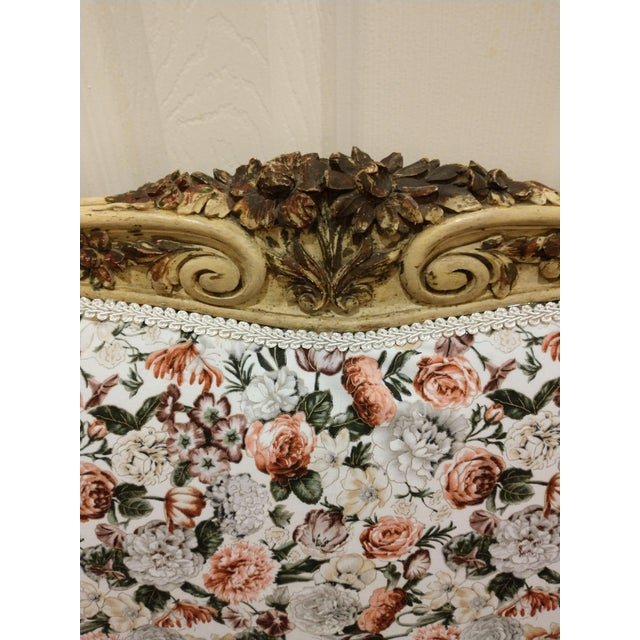 French Provincial 19th Century Antique Twin Headboard and Footboard For Sale - Image 3 of 13
