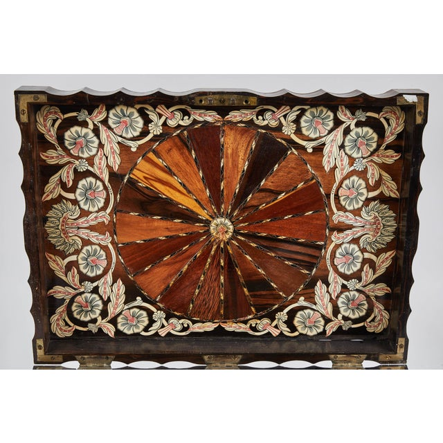 1882 King Ebony Inlaid Presentation Box For Sale In Los Angeles - Image 6 of 11