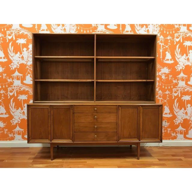 1960's Mid-Century Modern Drexel Declaration Credenza Buffet For Sale - Image 13 of 13
