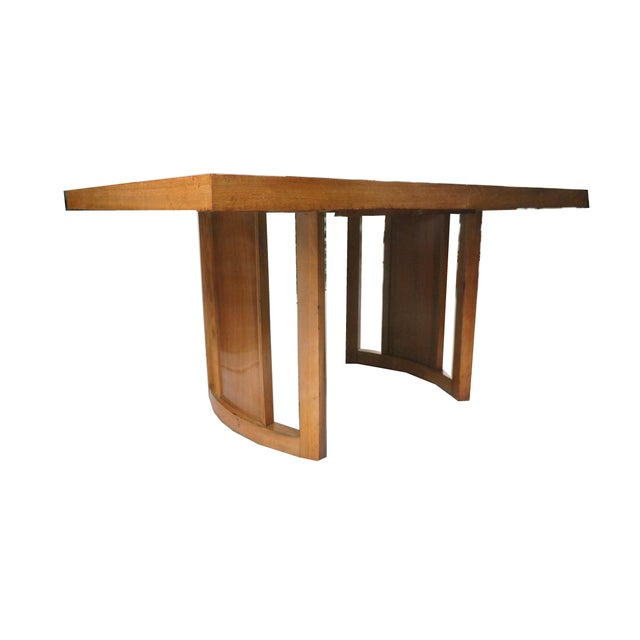 Morris & Co. 1950s Mid-Century Modern Morris of California Dining Set - 5 Pieces For Sale - Image 4 of 10