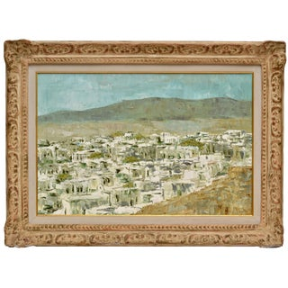 Signed Speck Landscape Painting For Sale