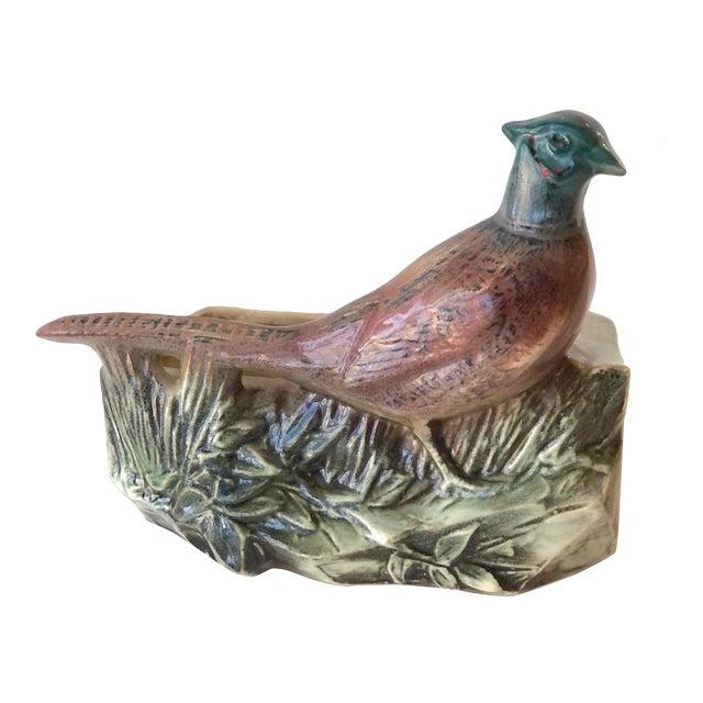 McCoy Pottery Pheasant Planter - Mid Century For Sale