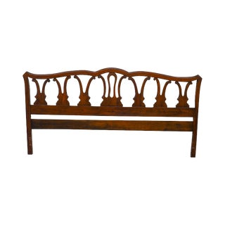 Link Taylor Vintage Solid Cherry Treasure House King Size Headboard