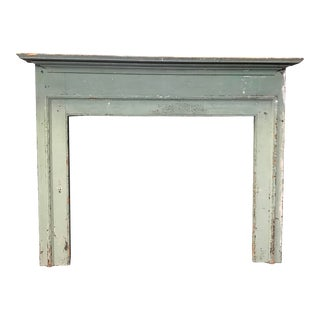 Federal Fireplace Mantel With Original Paint For Sale