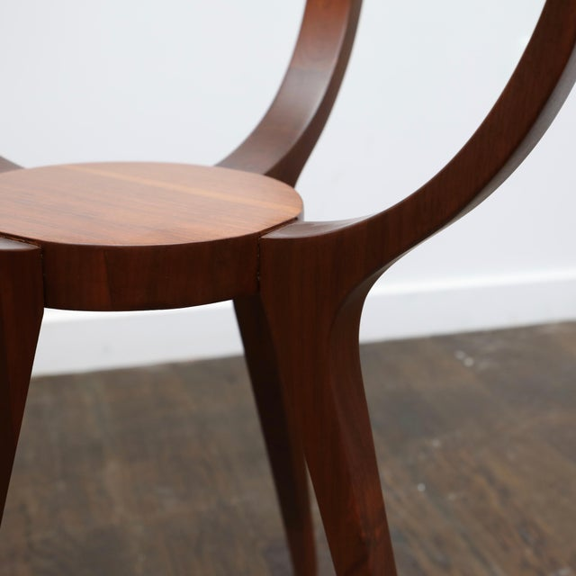 Jlindrich Halabala Style Side Table For Sale In New York - Image 6 of 7