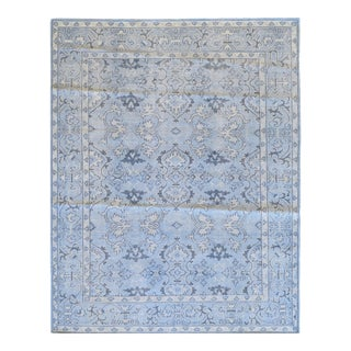 Spanish Mansour Quality Handwoven Oushak Wool Andalucia Rug- 8' X 10' For Sale