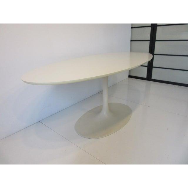 Modern Burke Tulip Desk / Dining Table for Burke International For Sale - Image 3 of 11