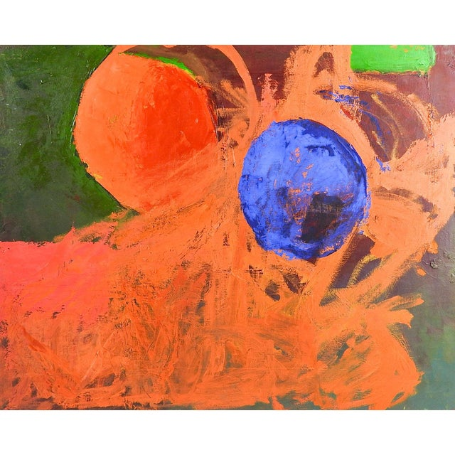 Abstract Spheres Painting by Bruce Clements For Sale