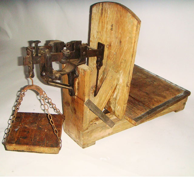 19th Century Swedish Weighing Scale - Image 3 of 7