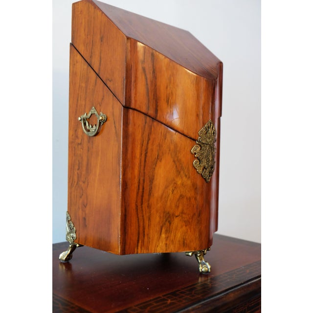 Traditional Rosewood Knife Box For Sale - Image 3 of 5