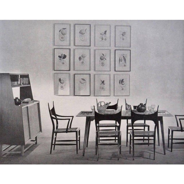 Set of Eight Edward Wormley 5580 Dining Chairs for Dunbar, 1950s For Sale - Image 12 of 13
