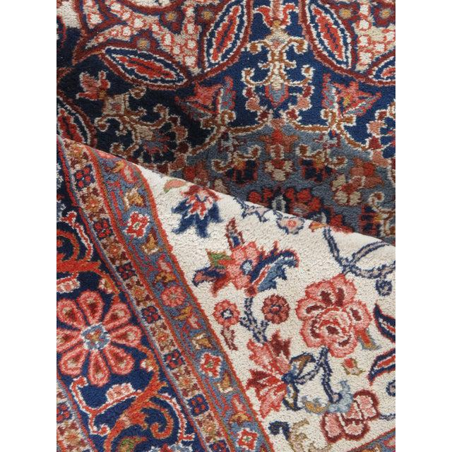 """Traditional Vintage Sarouk Hand Woven Rug 6'5"""" X 9'10"""" For Sale - Image 3 of 6"""