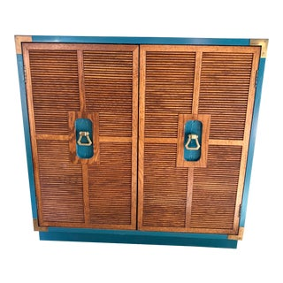 1967 Dixie Campaigner Style Cabinet For Sale