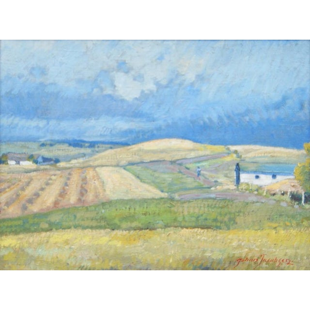 Summer Landscape Painting by Johan Jacobsen - Image 5 of 5