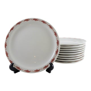 Vintage Mayer Dinner Plates - Set of 10 For Sale